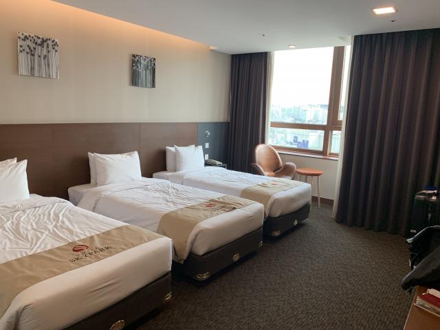 ソウルのホテル・スカイパークキングスタウン東大門