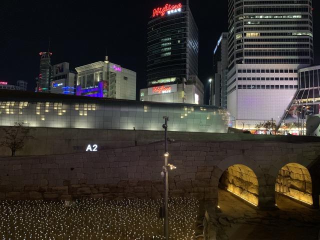 ソウルの東大門エリア
