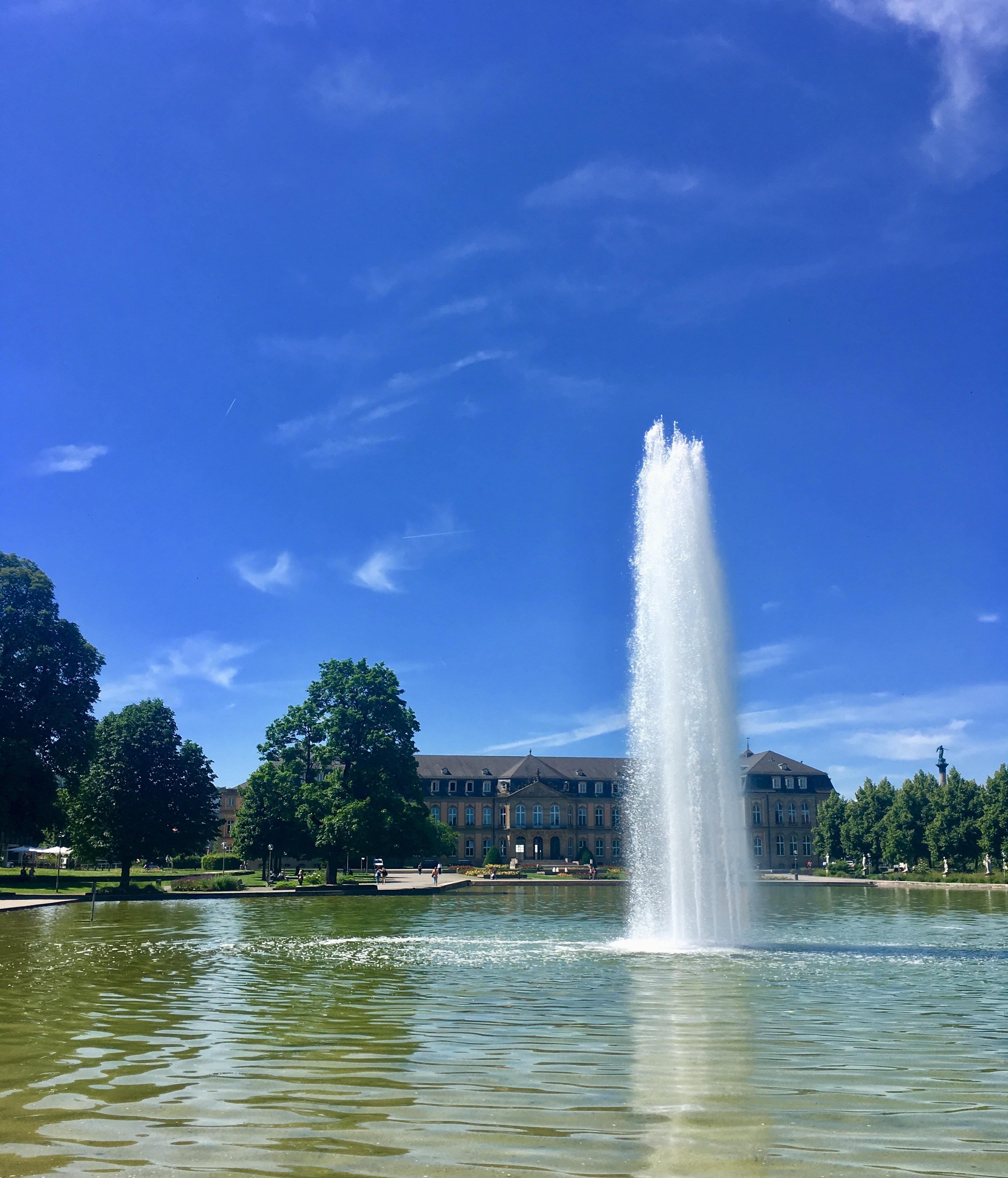 ドイツの宮殿の庭