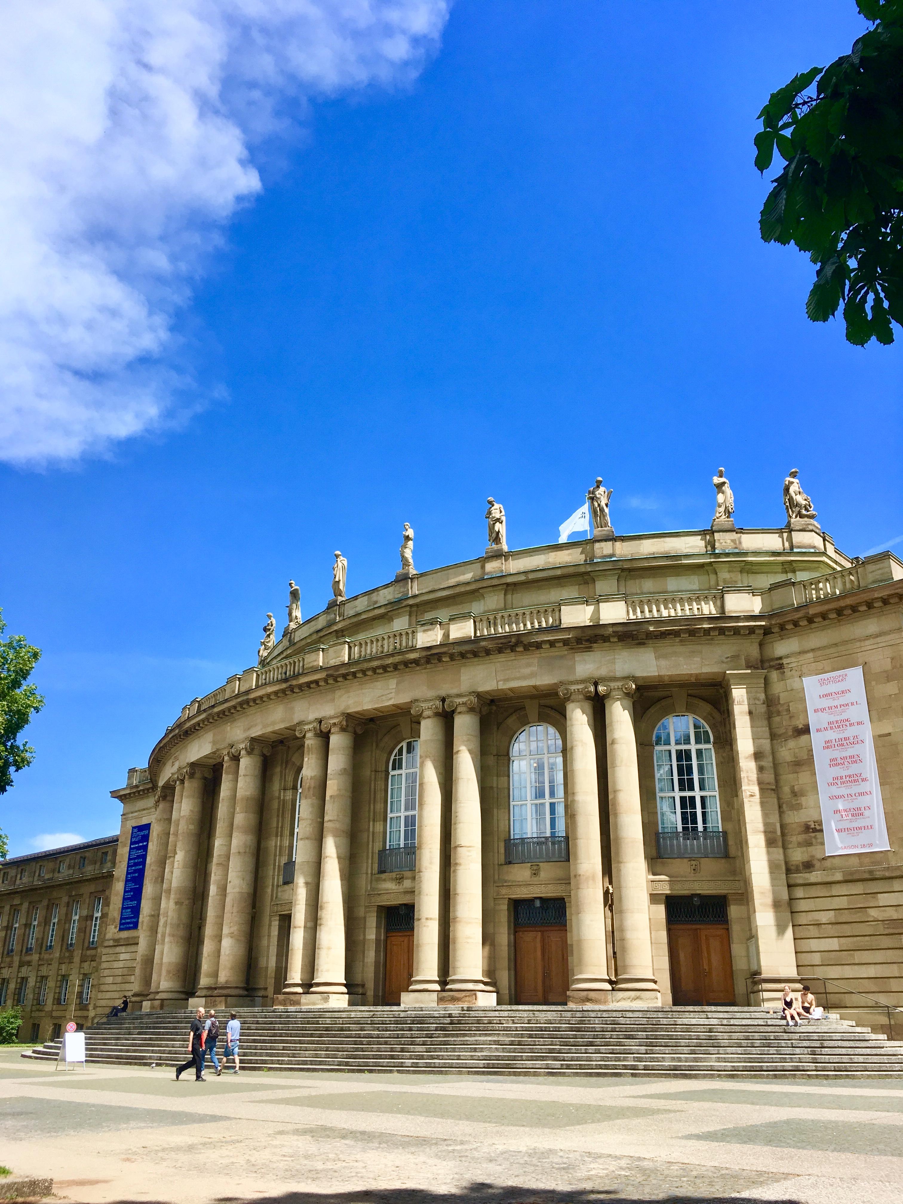 ドイツのシュトゥットガルト州立歌劇場