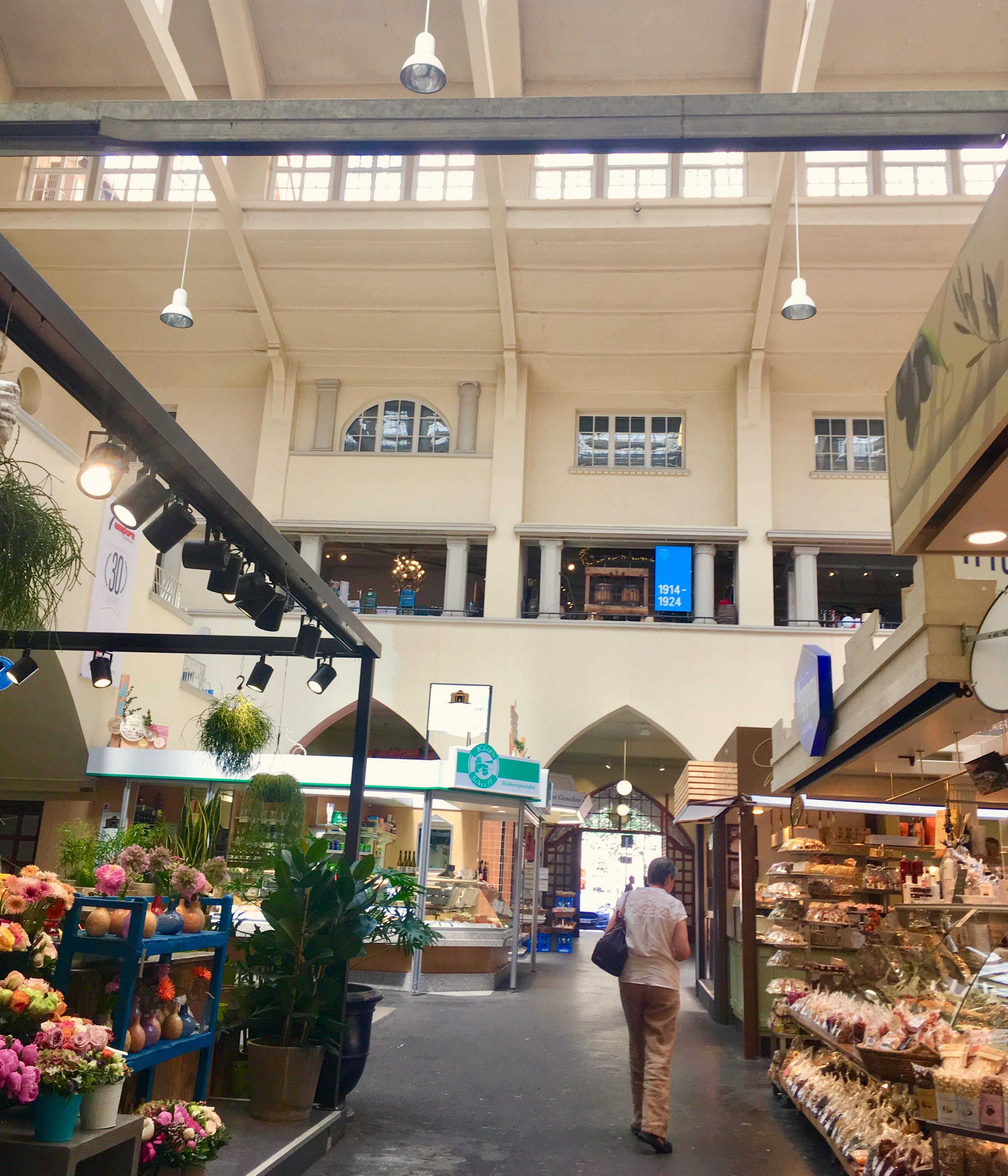 シュトゥットガルトのマルクトハレ・市場