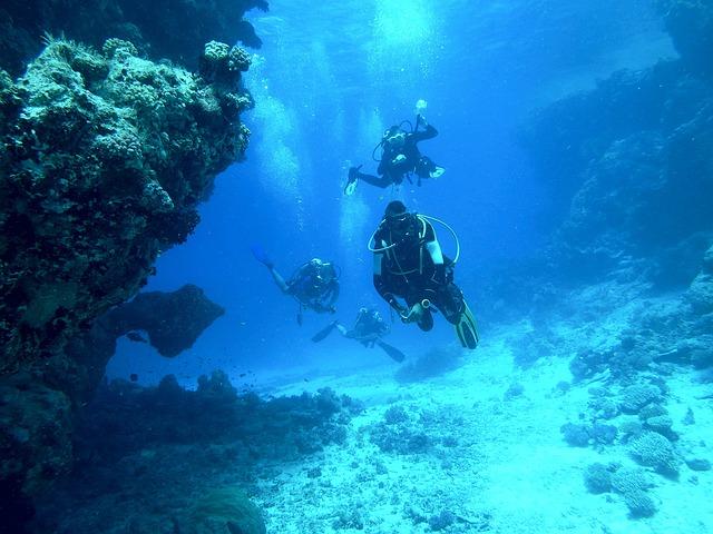 タヒチの海