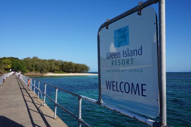 オーストラリア ケアンズ グリーン島