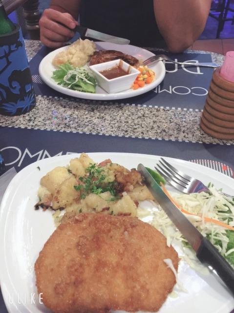 パタヤのレストラン SAILOR BAR 料理