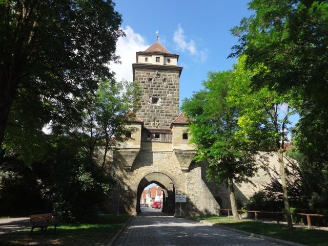 ローテンブルク 城壁
