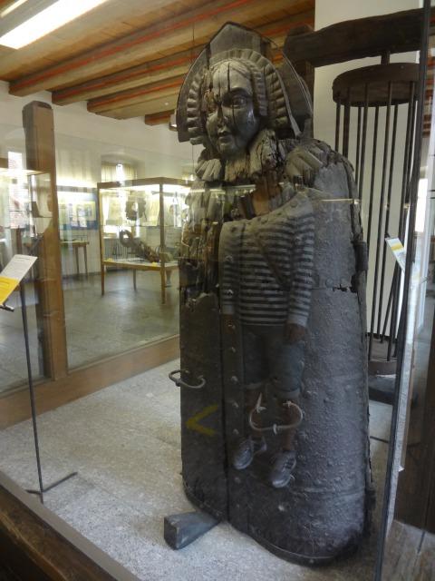 ローテンブルク 中世犯罪博物館 アイアンメイデン