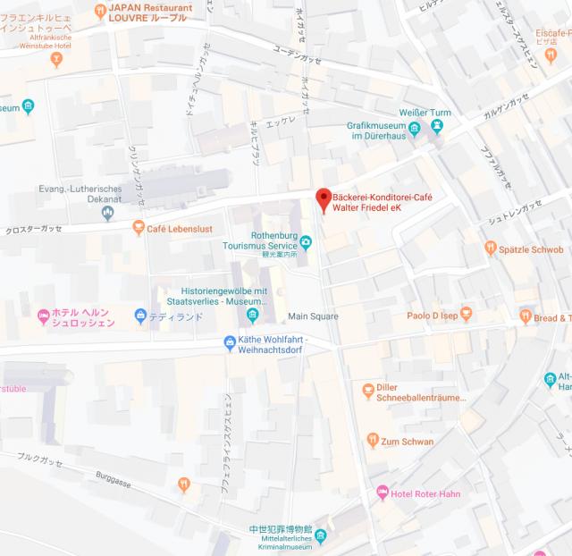 ディラー・シュネーバレントロイメ 地図
