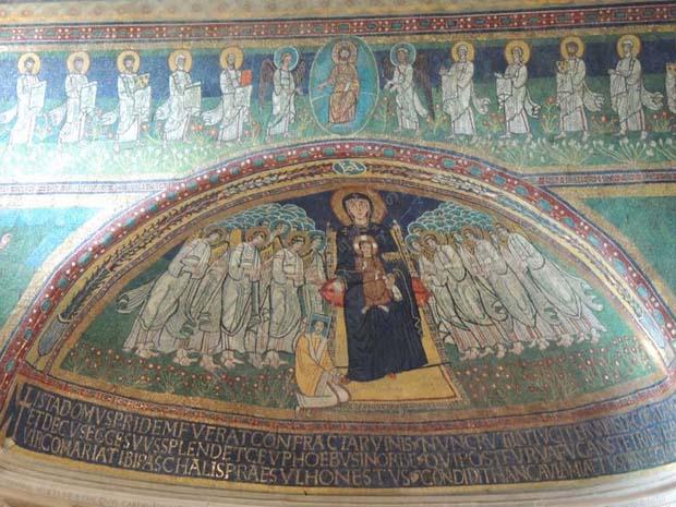 ローマ チェリオの丘 サンタ・マリア・イン・ドムニカ・アッラ・ナヴィチェッラ聖堂