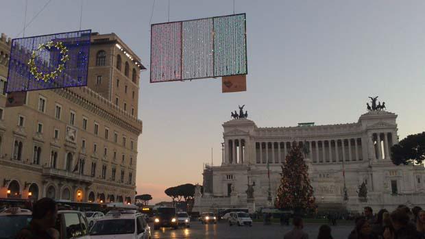 ローマの夕暮れ