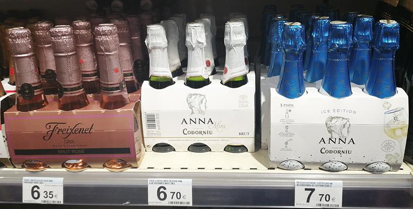 バルセロナのスパークリングワイン
