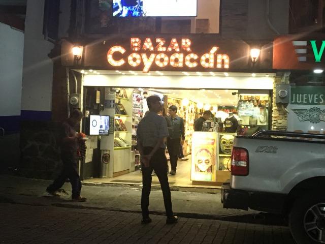 メキシコシティ バザール・コヨアカン