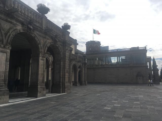 メキシコシティ チャプルテペック城