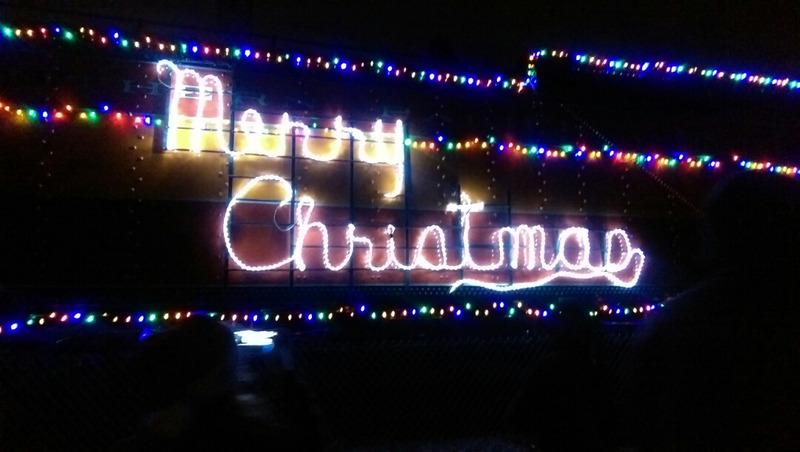 ポートランド クリスマスシーズン限定のHoliday Express