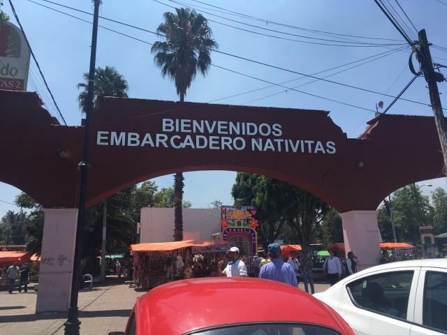 メキシコシティ ソチミルコ エンバルカデロ・ナティビータス