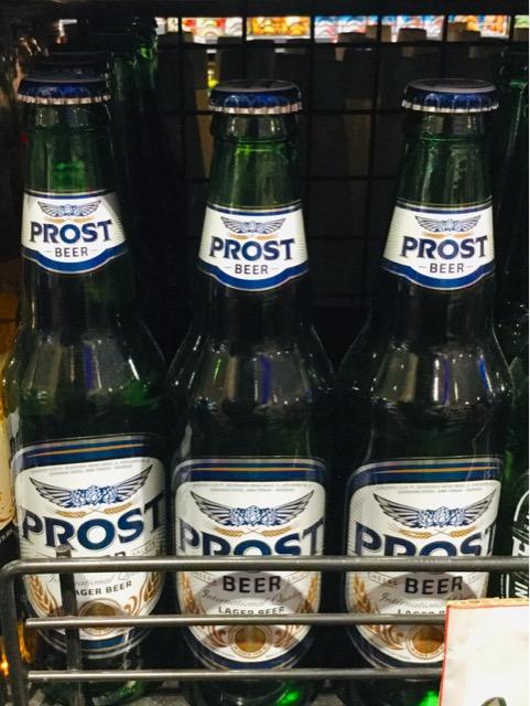 バリ島の隣 ジャワ島 PROST プロストビール