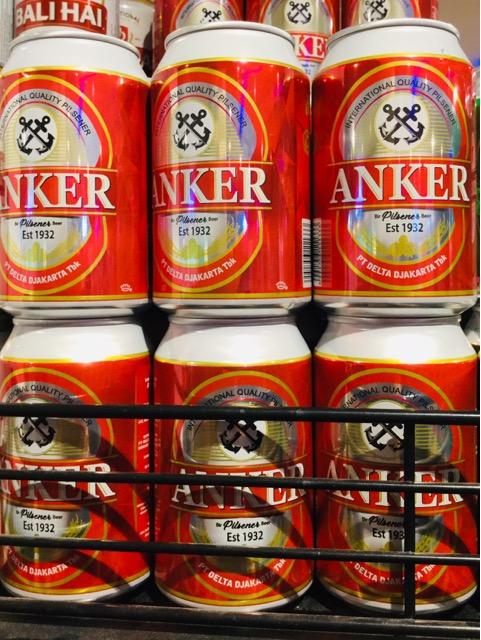バリ島 ANKERアンカービール