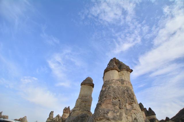 トルコ ギョレメ国立公園 キノコ岩