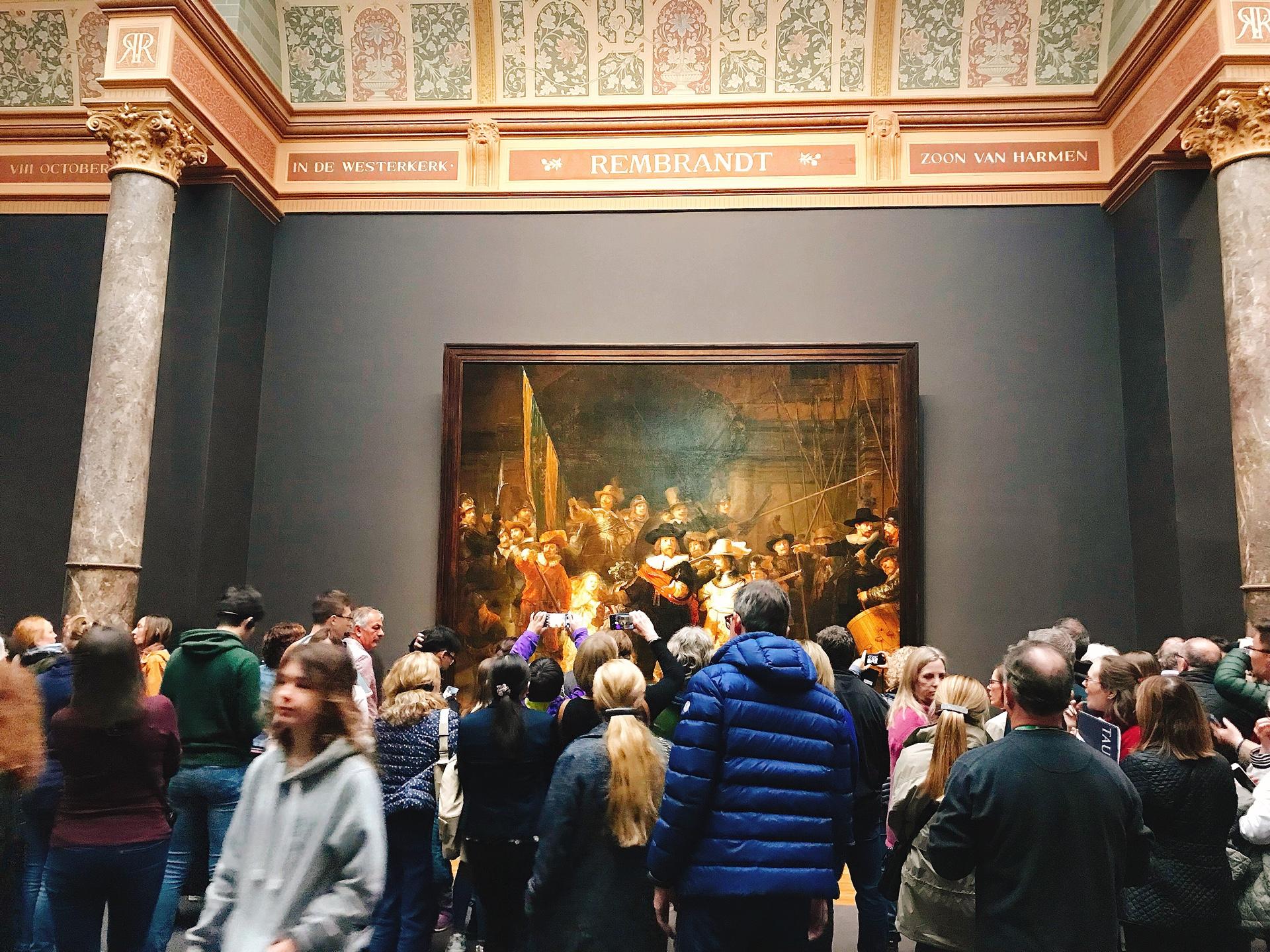 オランダ アムステルダム アムステルダム国立美術館内