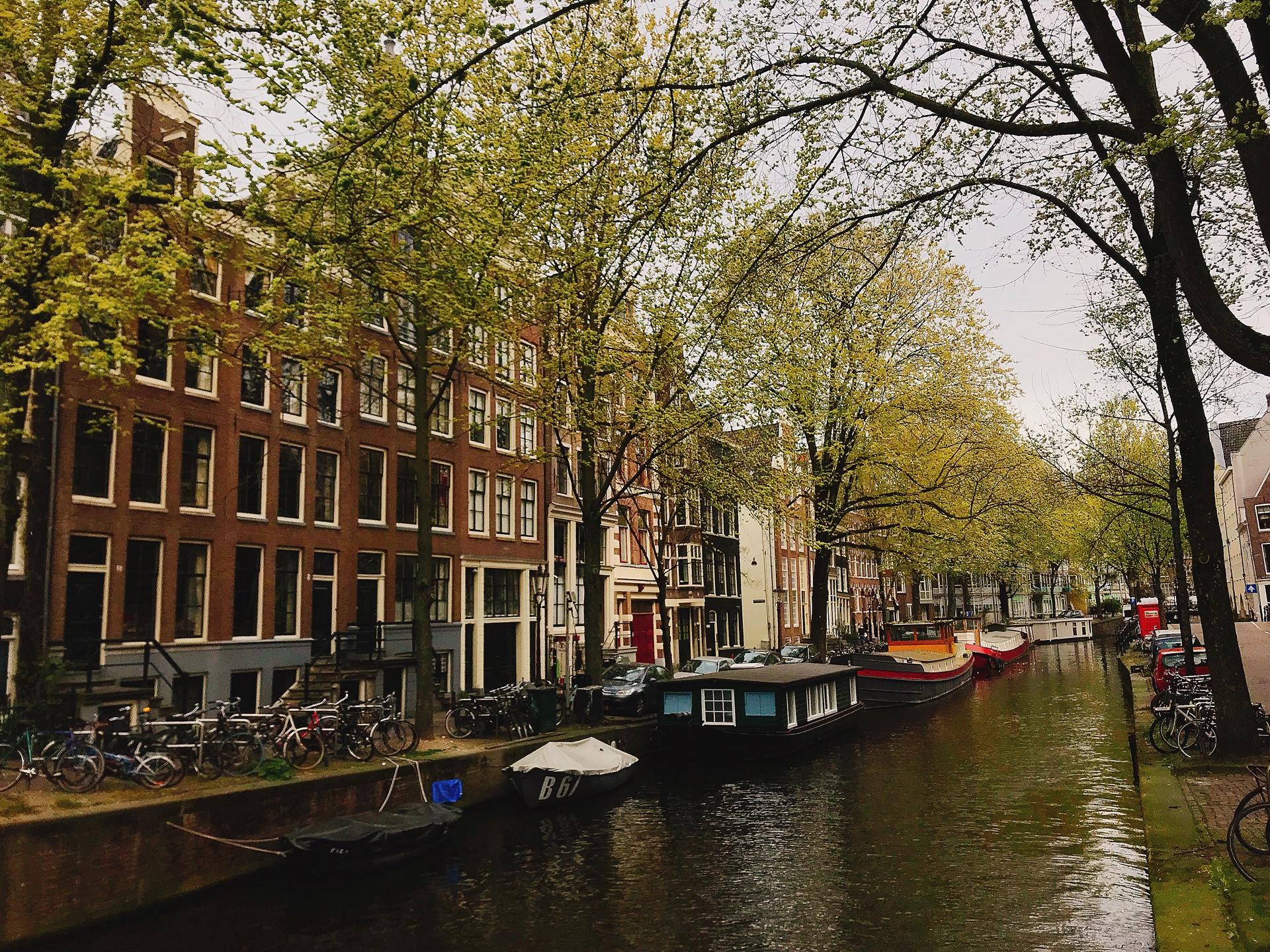 オランダ アムステルダム 運河クルーズ