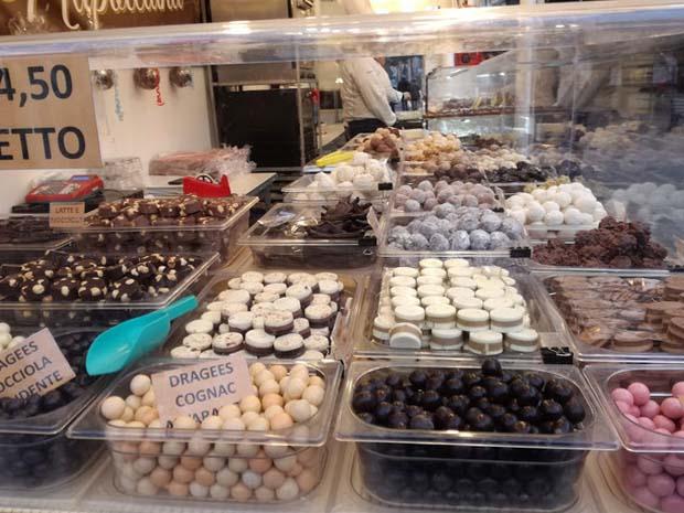 イタリアのチョコレート工房