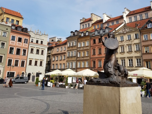 ワルシャワ 旧市街広場