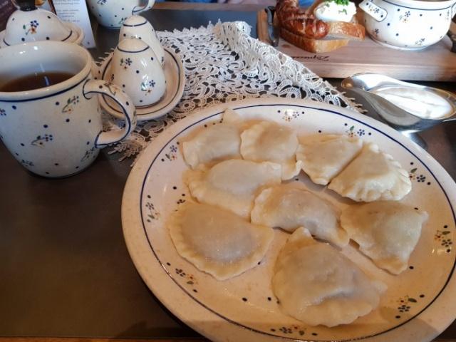 ワルシャワ ポーランド料理店 Zapiecekのピエロギ