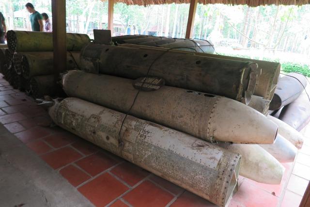 ホーチミン クチトンネル 不発弾