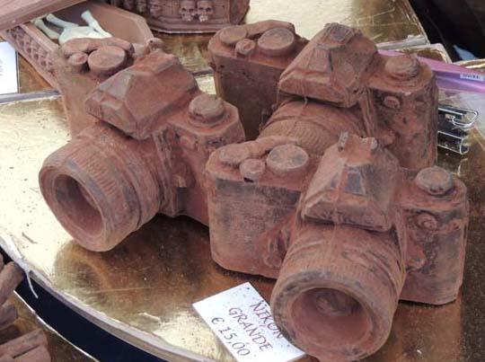 イタリア チョコレートの彫刻