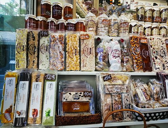 バルセロナのお土産キャラメリーゼ
