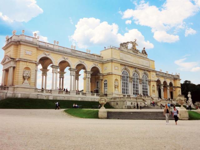 ウィーン シェーンブルン宮殿 グロリエッテ