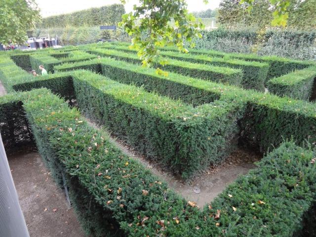 ウィーン シェーンブルン宮殿 迷路庭園