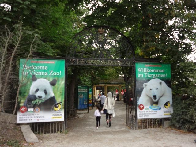 ウィーン シェーンブルン宮殿 動物園