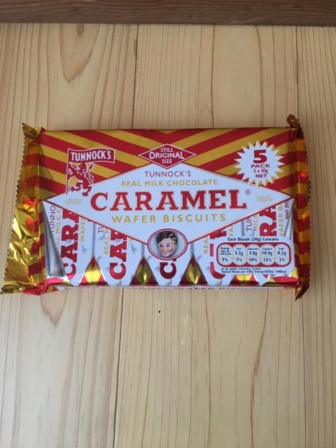 キャラメルワイファー(caramel wafer)