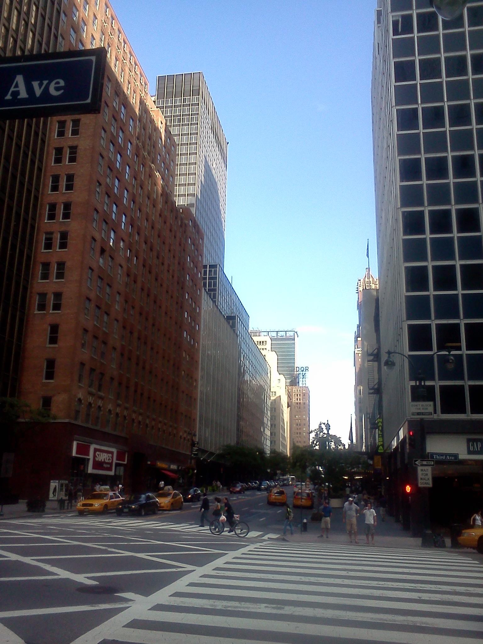 ニューヨークの風景