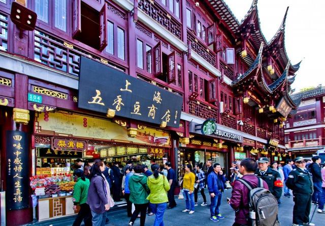 上海の風景