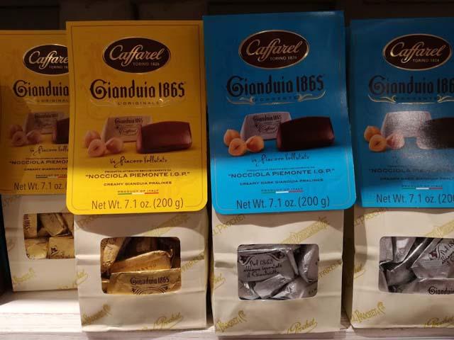 イタリア カッファレル社のチョコレート