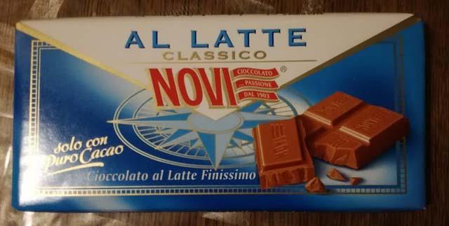 イタリア ノヴィのチョコレート