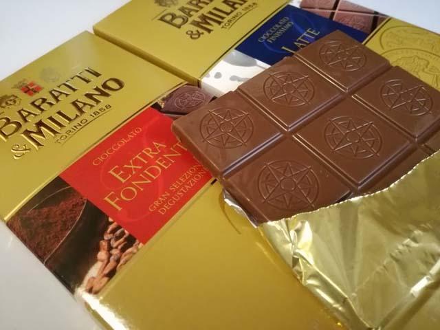 イタリアの板チョコ