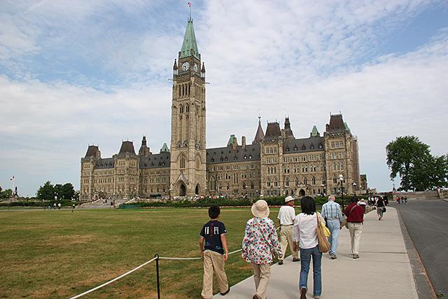 カナダ オタワ カナダ国会議事堂