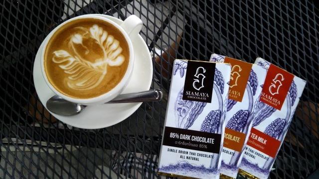 コーヒーと板チョコ