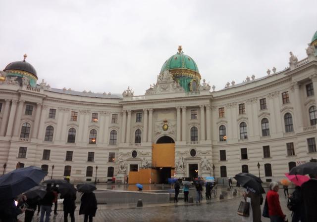 ウィーン ホーフブルク宮殿