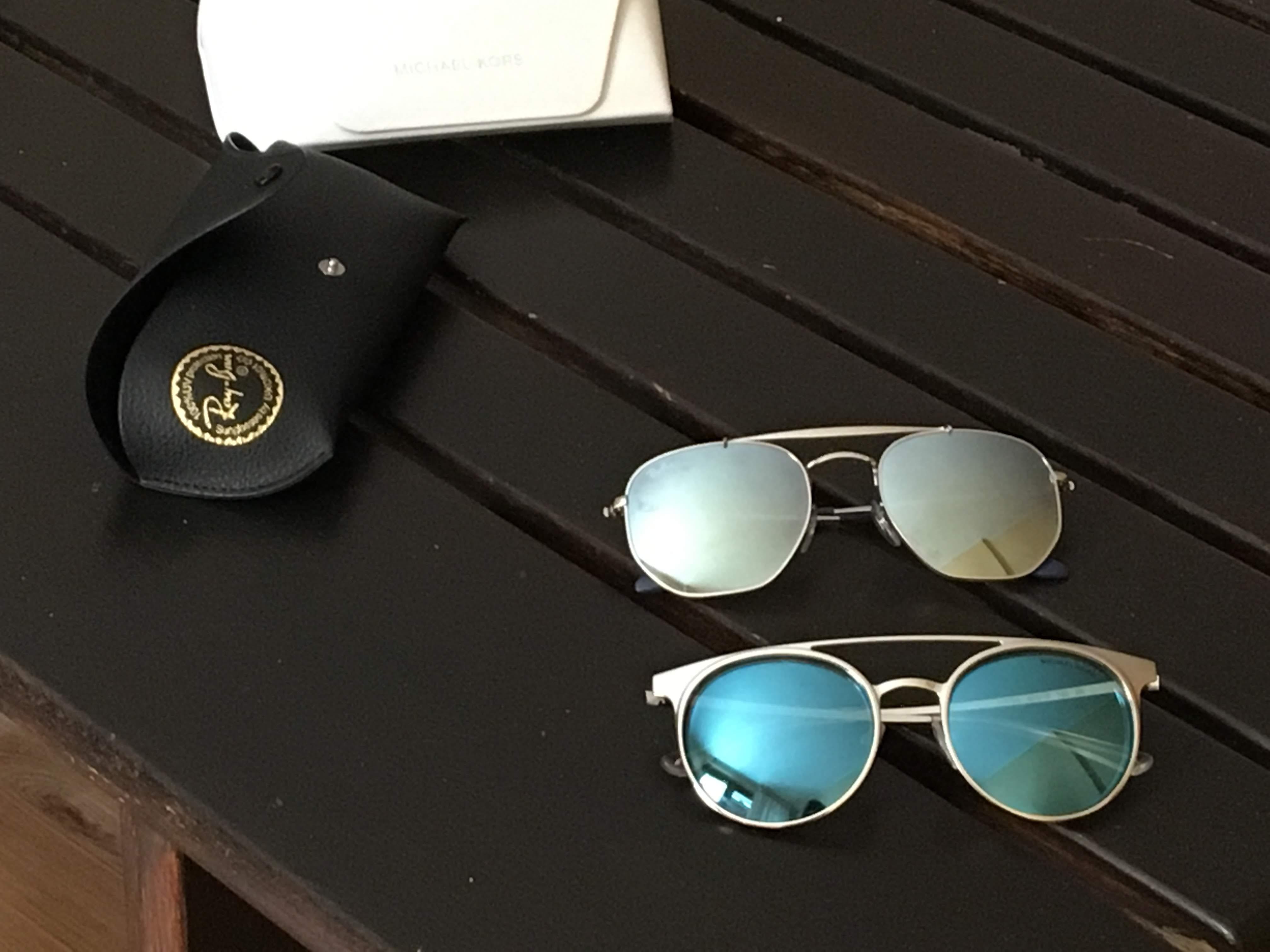 ミラノのサングラス