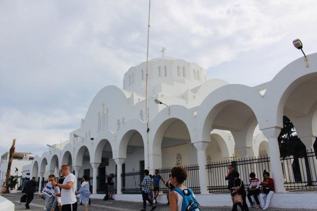 サントリーニ島 ティラ Cathedral Church Of Candlemas Of The Lord