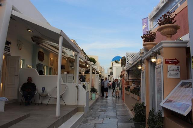 サントリーニ島 イアの小道