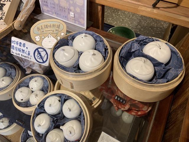 台北・迪化街の民藝埕 小籠包型の茶器
