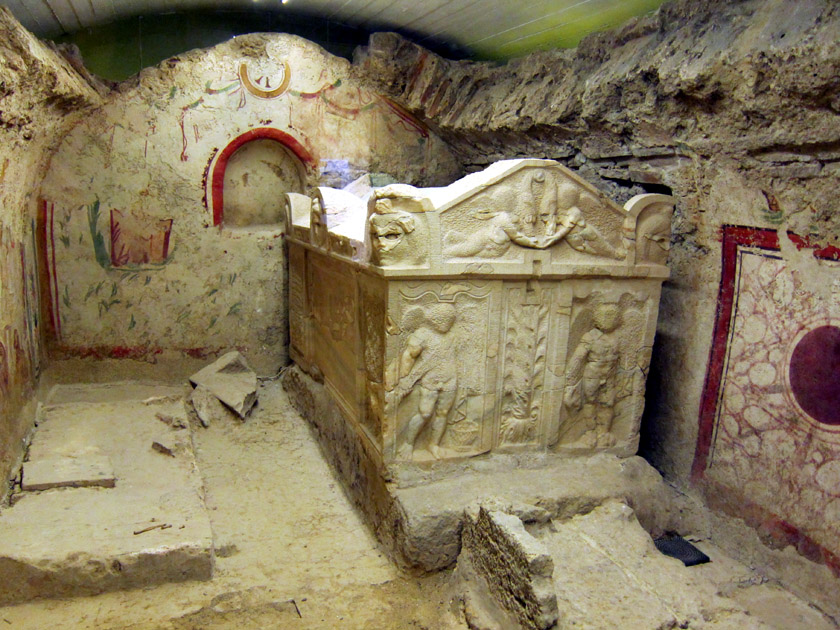 ハンガリー ペーチ(ソピアネ)初期キリスト教墓所