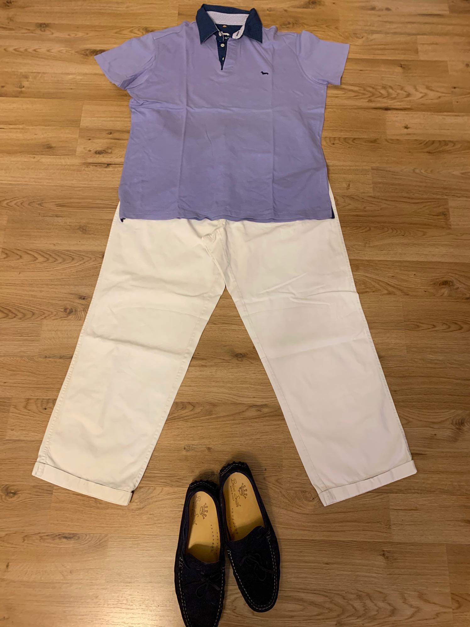 ミラノの夏の服装 メンズ