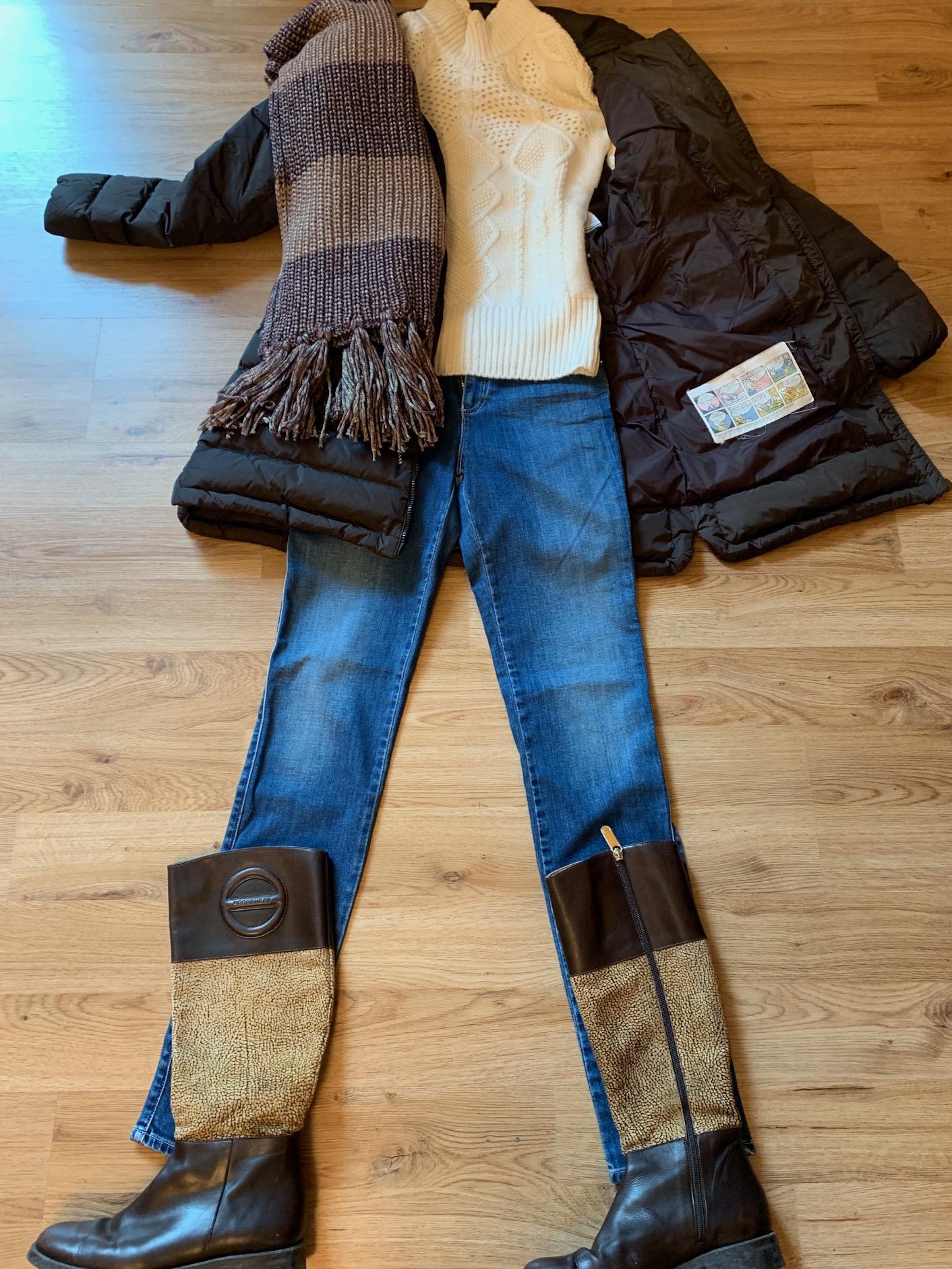 ミラノの冬の服装