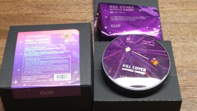 CLIO KILL COVER クッション別バージョン