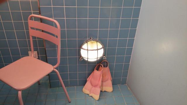 ソウルのPINK POOL HOTELのカフェ